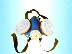 双罐防毒面具