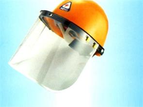 头盔防尘面罩